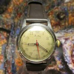 tag Heuer Dorlin 1950and039s Antique Stainless Steel Menand039s Watch Shipped From Japan