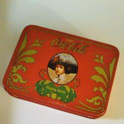 Coca-cola Vintage Antique Playing Cards Rare Can Box