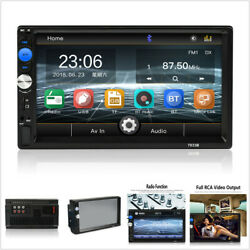 7in Hd Car Mp5 Multimedia Player Fm Stereo Radio Aux Input + Installation Frame