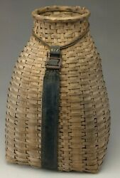 Exceptional Early Splint Trapper's Pack Basket.