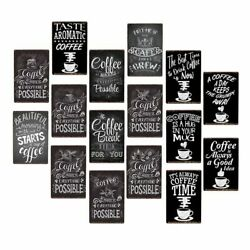 Coffee Makes Everything Possible Retro Metal Plaque Vintage Tin Sign Poster Wall