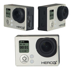 Gopro Hero3+ Camcorder Black Built-in Wi-fi, High Definition W/ 40pcs Accessory