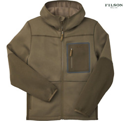 Nwt Filson Menand039s Shuksan Hooded Jacket Stone Brown/root Sz S And Xxxl Msrp 195
