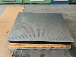Newport Optical Table 3' X 4'  4 Thick Bread Board, 1/4-20 Holes In 1 Grid