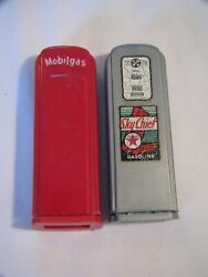 Vintage Gas Pump Salt And Pepper Shakers - Skychief Mobile Gas