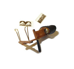 Dollhouse Nantasy Fantasy Wood Metal And Leather Stereoscope Victorian Miniature