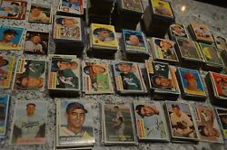 1950and039s Baseball Card Collection Writing Must See