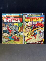 Marvel Feature 9 + 10 Ant-man 2 Book Lot, Nice