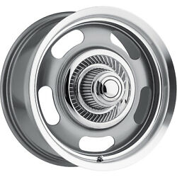 4 - 20x9.5 Gunmetal Wheel Vision Rally 5x4.5 5x120 38