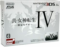 Nintendo 3dsll Shin Megami Tensei Iv Limited Edition From Japan Japanese Edition