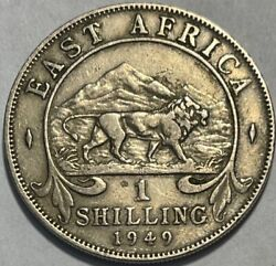 East Africa - George Vi - One Shilling - 1949 - Km-31 - Extra Fine