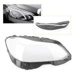 Right Headlight Headlamp Lens Cover Shell Fit Mercedes Benz W212 2014-2015 Auto