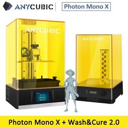 Anycubic Photon Mono X Lcd 3d Printer 192x120x245mm + Wash And Cure 2.0 Diy Kit
