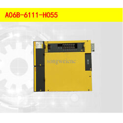 Fanuc Amplifier A06b-6111-h055 In Stock With 3 Months Warranty Tested Ok