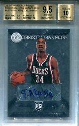 Giannis Antetokounmpo Autographed 2013-14 Panini Totally Certified Rookie Roll C