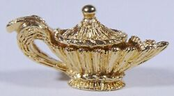 14k Yellow Gold, Able To Open Aladdin Magic Genie Lamp 4.5 Grams 56-r