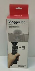 Sony Vlogger Kit Wireless Remote Tripod And 64gb Sd Card Accvc1