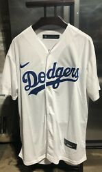 LA Dodgers Mookie Betts Replica Jersey Men#x27;s L New Year 2020 #50