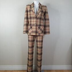 Vintage Young Pendleton 3pc Wool Pant And Skirt Suit