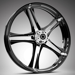 """Discharge Starkline 19 X 3.0"""" Front And Rear Wheels 2014-up Harley Touring Bagger"""
