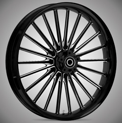 """Pulse Starkline 19 X 3.0"""" Front And Rear Wheels - 2014-up Harley Touring Bagger"""