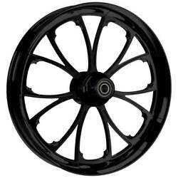 """Ryd Wheels 23 X 3.75"""" Arc Blackline Front And Rear Wheels - 2000-up Harley Touring"""