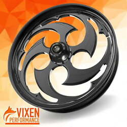 26 X 3.75 Swift Wheel And Front Tire - Black - 00-19 Harley Touring 26-251b-t