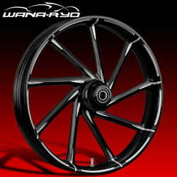 Ryd Wheels Kinetic Starkline 23 X 5.0andrdquo Fat Front Wheel Only 00-07 Bagger