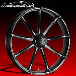 Ryd Wheels Ion Starkline 21 Fat Front And Rear Wheels Only 00-07 Bagger