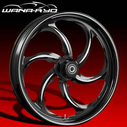 Ryd Wheels Reactor Starkline 23 Front And Rear Wheel Only 09-19 Bagger