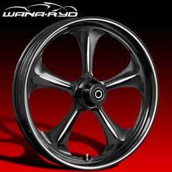 Ryd Wheels Adrenaline Starkline 23 Front And Rear Wheel Only 09-19 Bagger