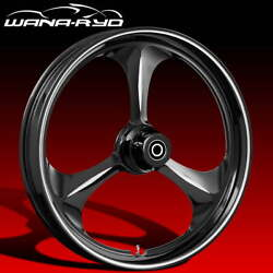 Ryd Wheels Amp Starkline 23 Fat Front And Rear Wheel Only 09-19 Bagger