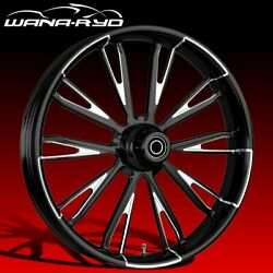 Ryd Wheels Resistor Starkline 21 Front And Rear Wheels Only 00-07 Bagger