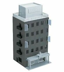 Greenmax 2609 Business Building Black Gray Basic 5-story N Scale