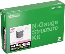 Greenmax 2610 Business Building Black Gray Expansion Set For 4th Floor N Scale