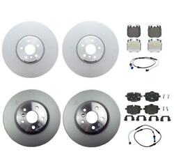 Genuine Front And Rear Brake Kit Disc Rotors Pads Sensors For Bmw G30 540i 3.0l L6
