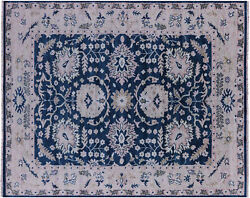 8and039 2 X 10and039 2 Turkish Oushak Hand-knotted Wool Rug - Q8756