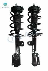 Pair Front L-r Quick Complete Strut - Coil Spring For 2013-2019 Ford Explorer