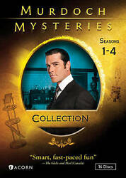 Murdoch Mysteries Collection Seasons 1-4