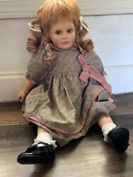 Doll By Peggy Ann Ridley 1996 Sign By Artist