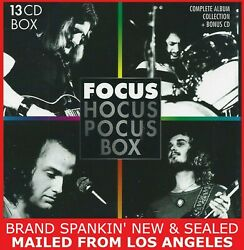 Focus - Hocus Pocus Box Set 13 Cdand039s More Than 120 Tracks Mailedfrom Los Angeles