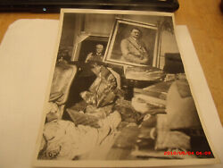 Amazing Orig Ww2 1945 Photo.captured German Material Stored At Embassy In Us