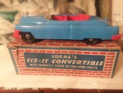 Ideal Fix It 1953 Cadillac With Box And Tools. No. 3058