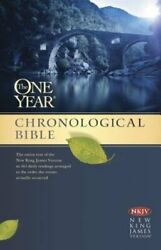 One Year Chronological Bible-nkjv By Tyndale New
