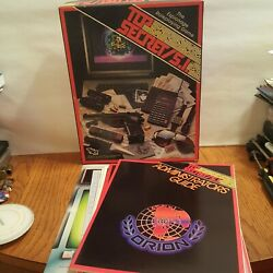 Vintage 1987 Top Secret S.i. Roleplaying Game 7620 By Tsr Box S
