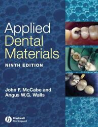 Applied Dental Materials Paperback By Mccabe John F. Edt Walls Angus W....