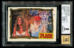 Catherine Bach Signed Autograph 2008 Americana Recollection Collection 3/5 Bas