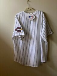 2005 Chicago White Sox World Series Championship Jersey With Patches Size Xxl