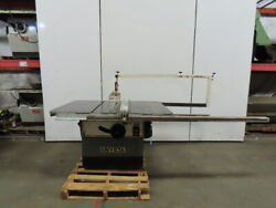 Delta Rt40 14 To 16 Table Saw 7.5 Hp 230/460v 3 Phase W/rip Fence