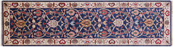 Traditional Handmade Wool Runner Rug 2and039 7 X 9and039 10 - Q8398